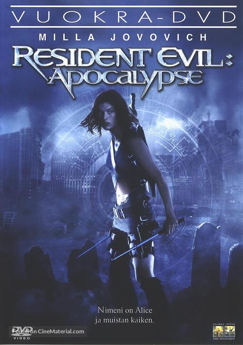 Resident Evil: Apocalypse - Finnish DVD movie cover