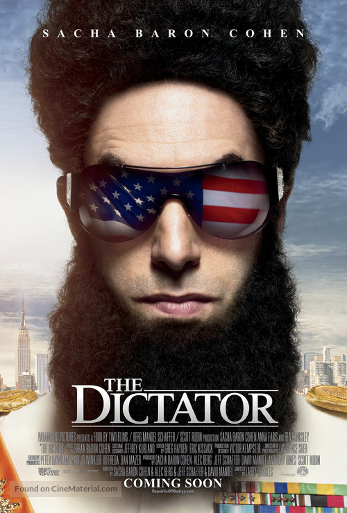 The Dictator - Movie Poster