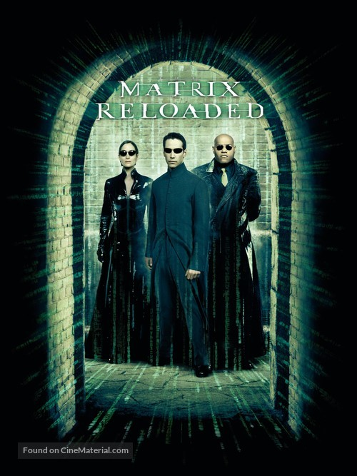 The Matrix Reloaded - DVD movie cover