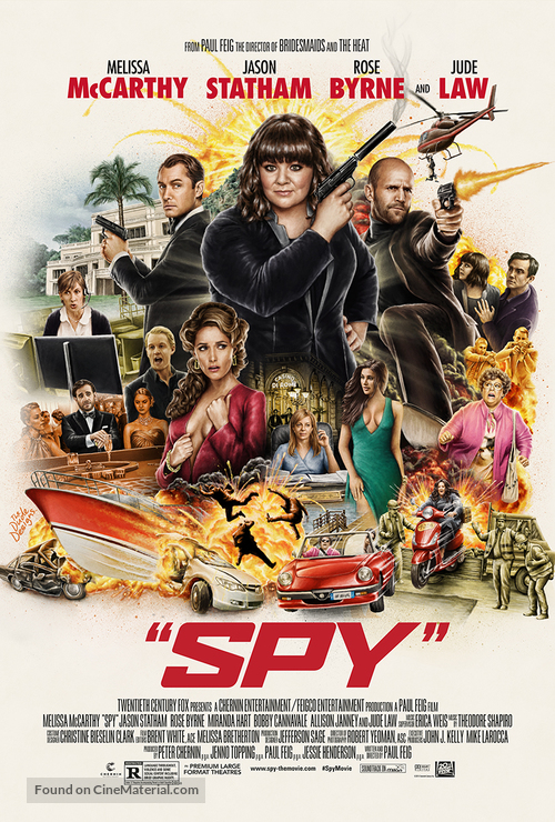 Spy - Movie Poster