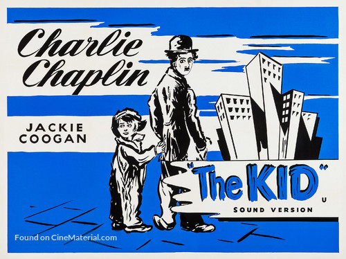 The Kid - British Re-release movie poster