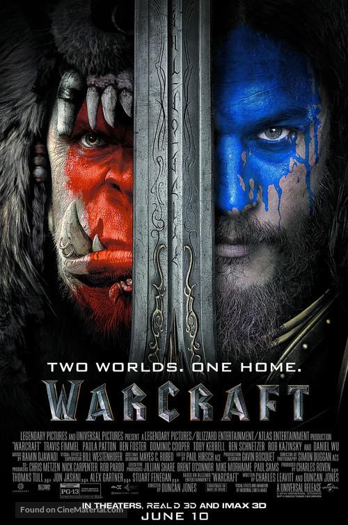Warcraft - Movie Poster