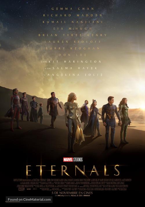 The Eternals - Spanish Movie Poster