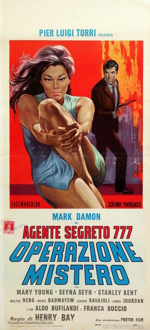 Agente segreto 777 - Operazione Mistero - Italian Movie Poster