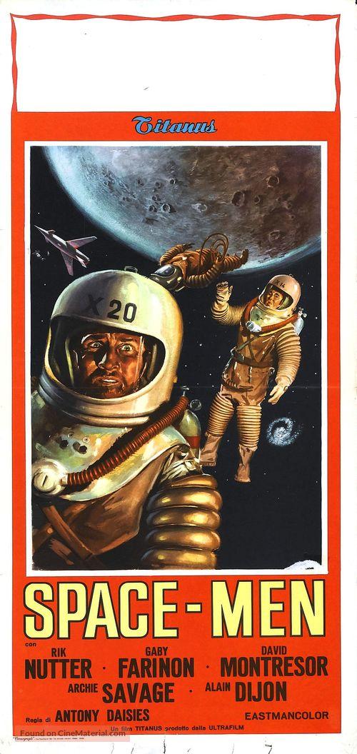 Space Men - Italian Movie Poster