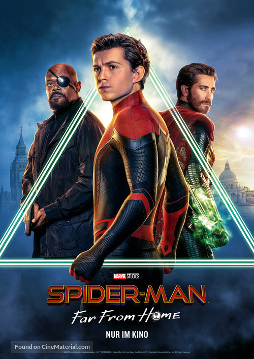 Spider-Man: Far From Home - German Movie Poster