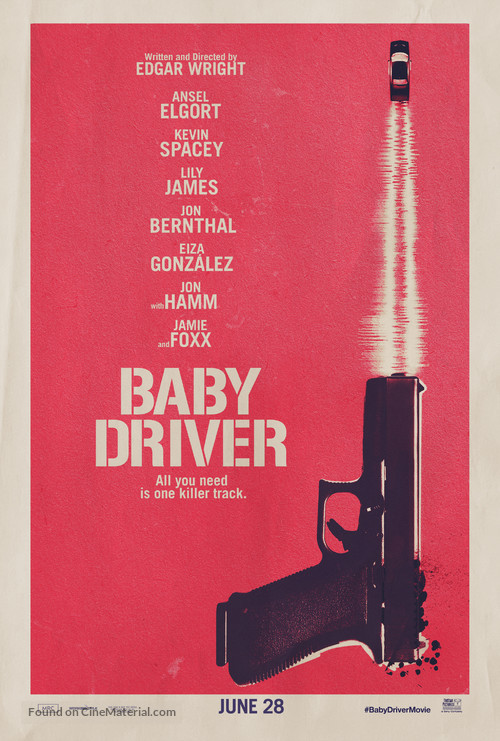 Baby Driver - Teaser movie poster