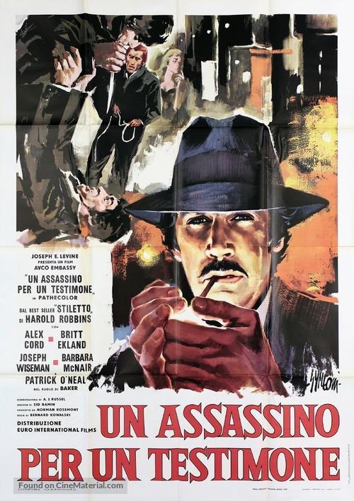 Stiletto - Italian Movie Poster