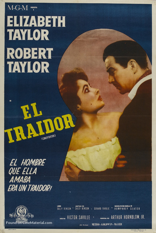 Conspirator - Argentinian Movie Poster