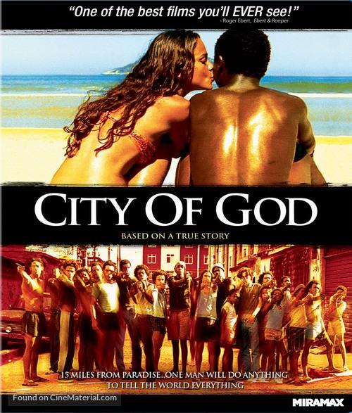 Cidade de Deus - Blu-Ray movie cover