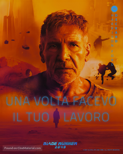 Blade Runner 2049 - Italian Movie Poster