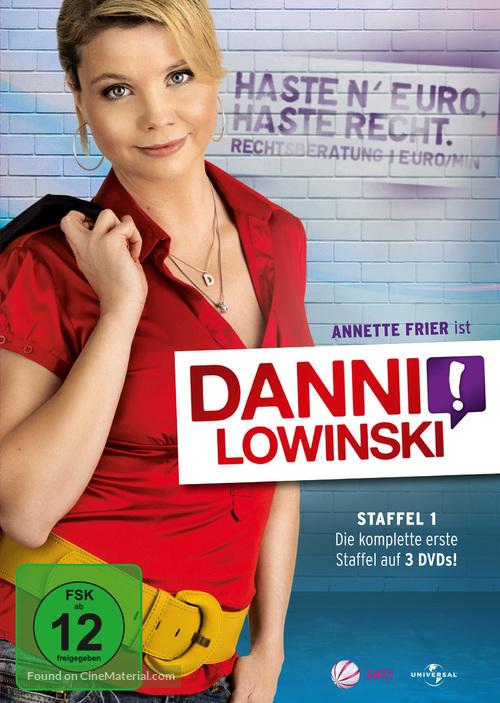 """Danni Lowinski"" - German DVD movie cover"