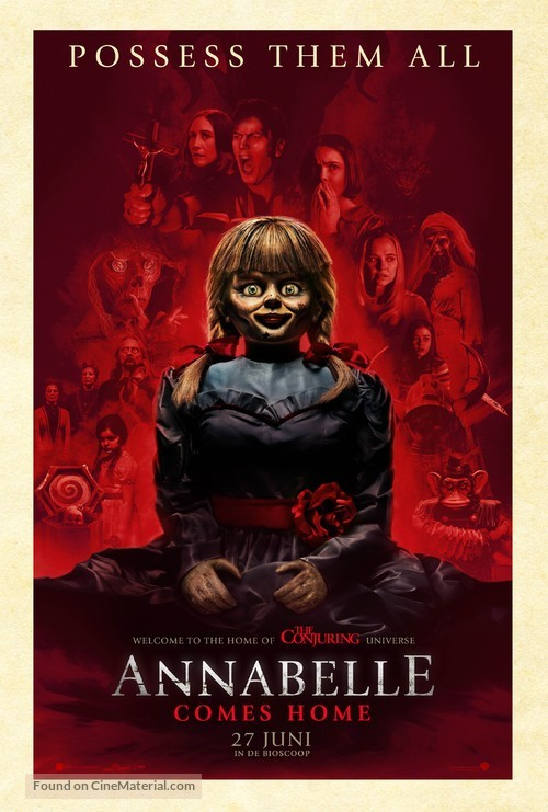 Annabelle Comes Home - Dutch Movie Poster