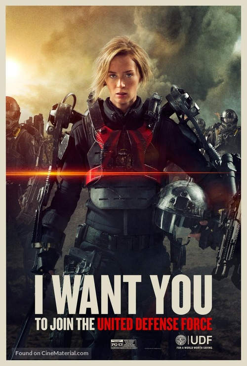 Live Die Repeat: Edge of Tomorrow - Movie Poster