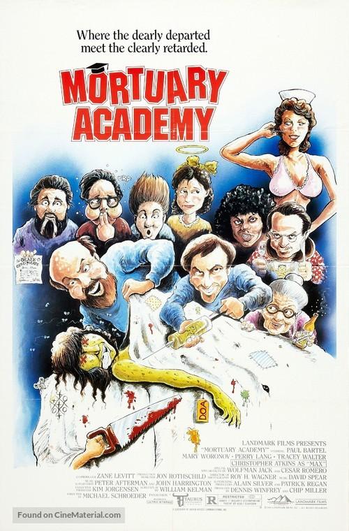Mortuary Academy - Movie Poster