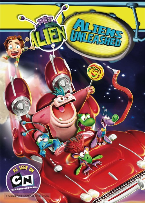 """Pet Alien"" - DVD movie cover"