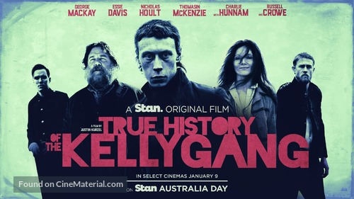 True History of the Kelly Gang - Australian Movie Poster