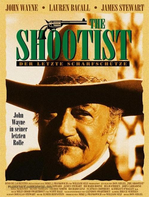 The Shootist - German Movie Poster