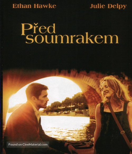 Before Sunset - Czech DVD movie cover
