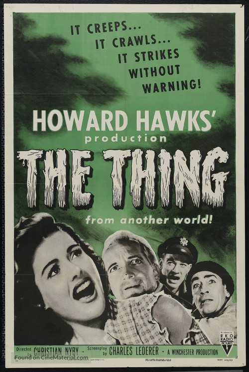 The Thing From Another World - Movie Poster