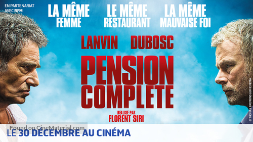 Pension complète - French Movie Poster