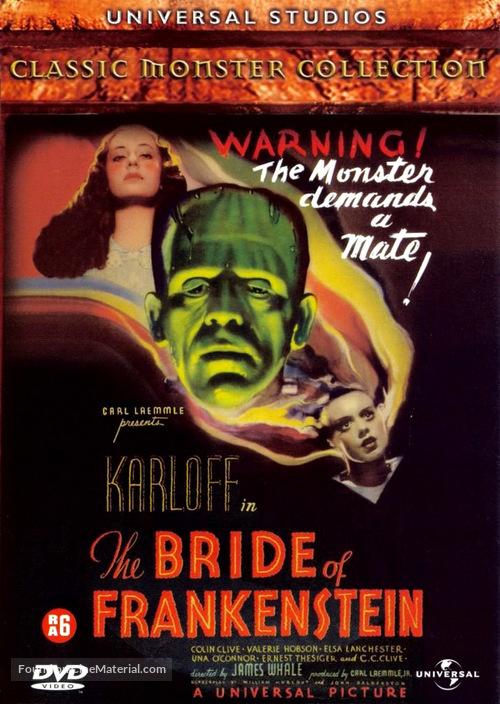 Bride of Frankenstein - Belgian Movie Cover