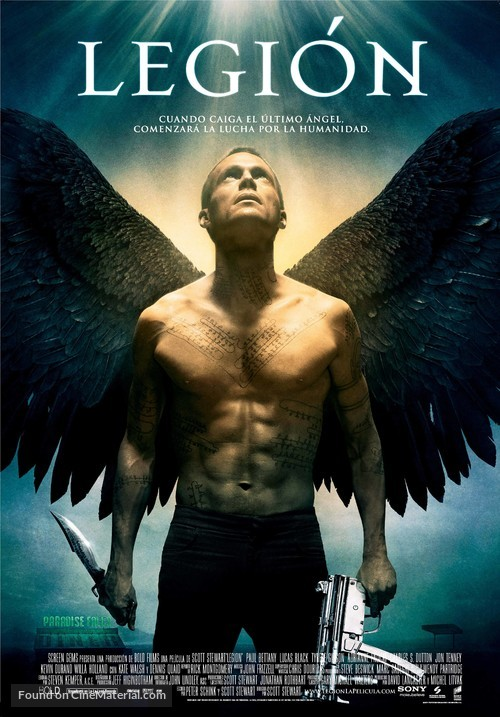 Legion - Spanish Movie Poster