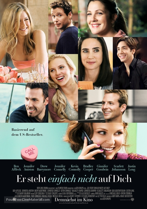 He's Just Not That Into You - German Movie Poster