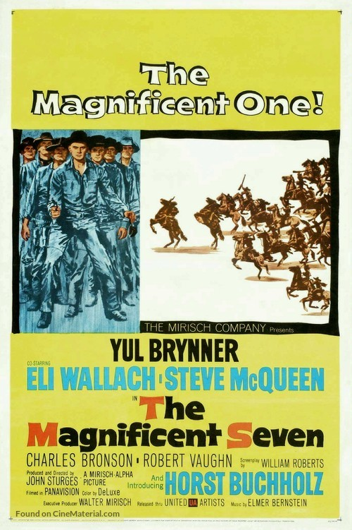 The Magnificent Seven - Movie Poster