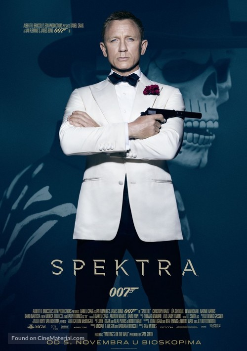 Spectre - Serbian Movie Poster