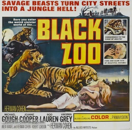 Black Zoo - Movie Poster