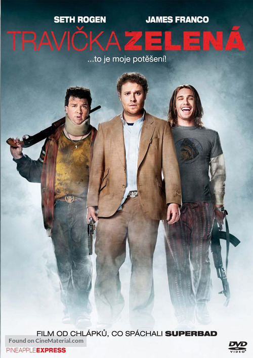 Pineapple Express - Czech Movie Cover