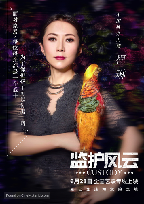 Jusqu'à la garde - Chinese Movie Poster