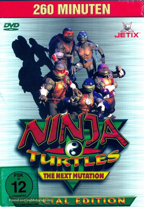 """Ninja Turtles: The Next Mutation"" - German DVD movie cover"