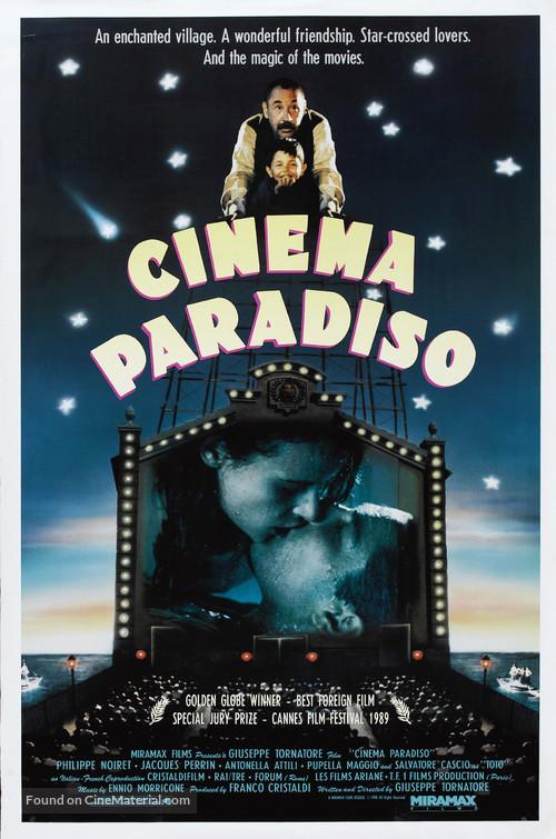 Nuovo cinema Paradiso - Movie Poster