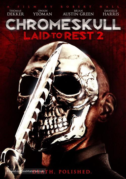 ChromeSkull: Laid to Rest 2 - DVD movie cover