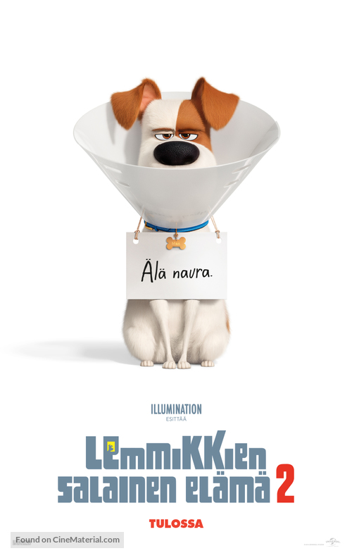 The Secret Life of Pets 2 - Finnish Movie Poster