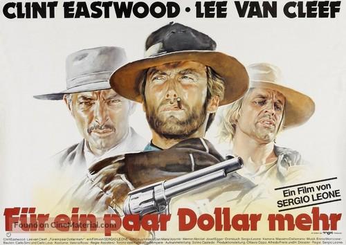 Per qualche dollaro in più - German Movie Poster
