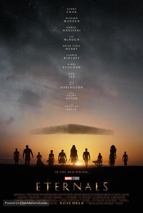 The Eternals - Movie Poster