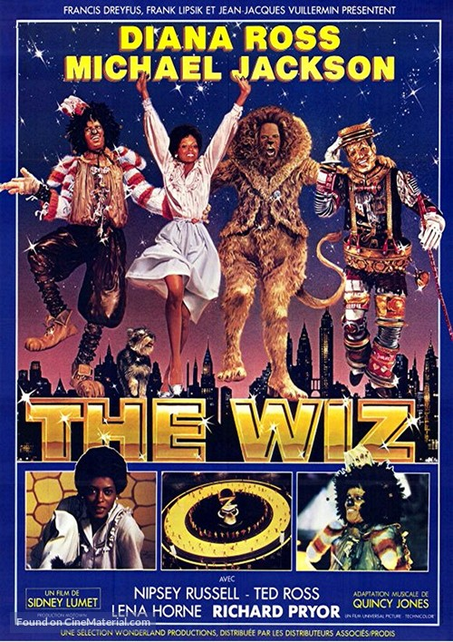 The Wiz - French Movie Poster