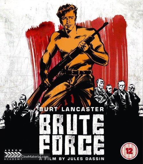 Brute Force - British Blu-Ray movie cover