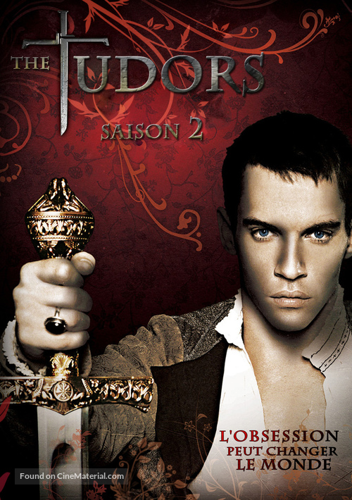 """""""The Tudors"""" - French DVD movie cover"""