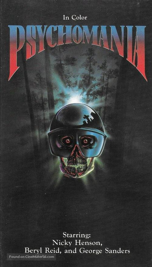 Psychomania - VHS movie cover