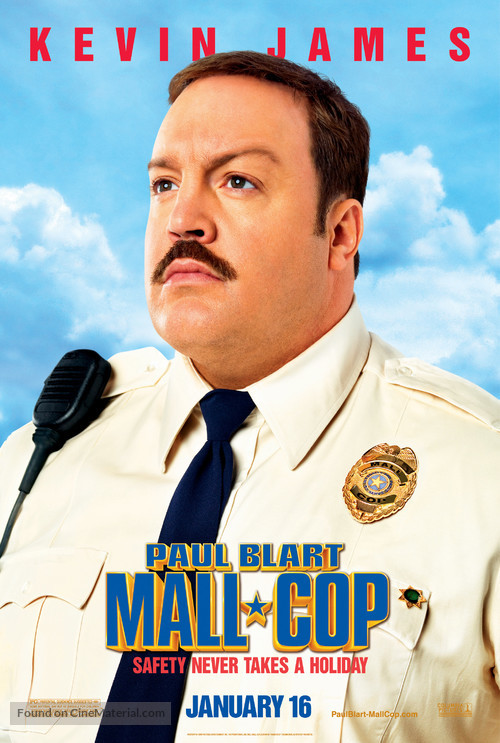 Paul Blart: Mall Cop - Movie Poster