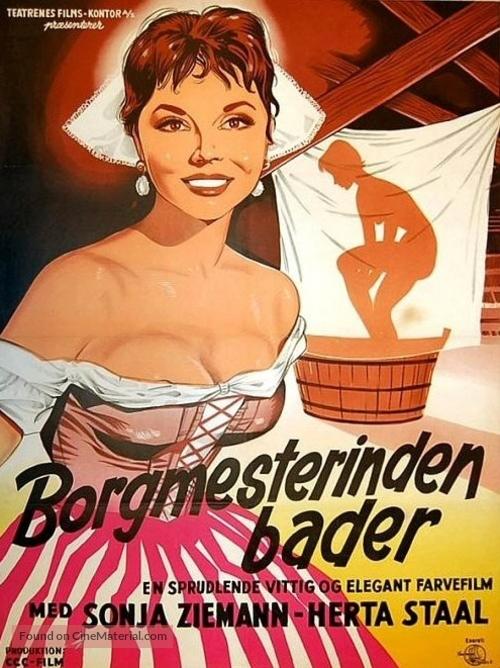 Das Bad auf der Tenne - Danish Movie Poster