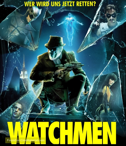 Watchmen - German Blu-Ray movie cover