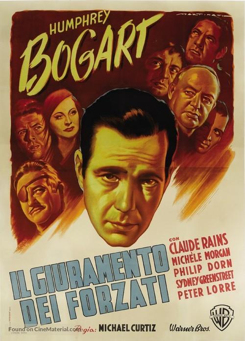 Passage to Marseille - Italian Movie Poster
