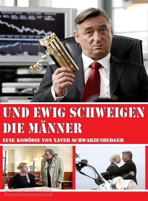 Und ewig schweigen die Männer - German Movie Poster