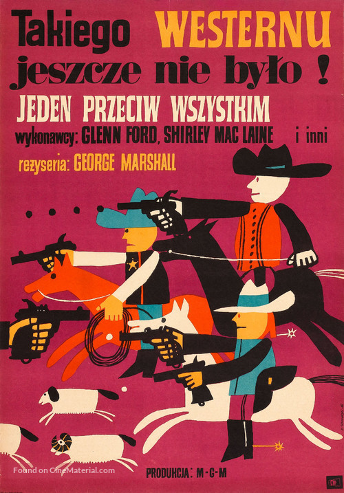 The Sheepman - Polish Movie Poster