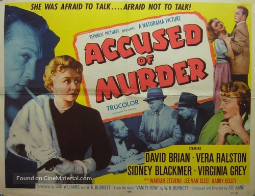 Accused of Murder - Movie Poster